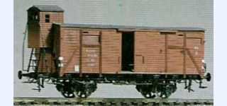 BESENHART DRG G10 covered goods car with cab
