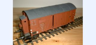 BESENHART DRG Ghs 30 covered goods car / cab