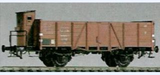 BESENHART DRG Om 21 open goods car with cab