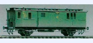 BESENHART DRG Pw Post i Pr11/34 baggage car