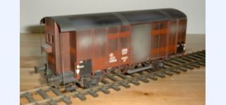 BESENHART SBB K3 covered goods car with cab