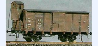 Datstead DRG G10 goods car with brake house