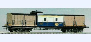 ELLETREN CIWL F Baggage car with container