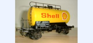FRISA SBB Tank car SHELL