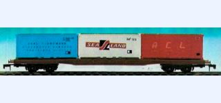 LIMA Container flat car