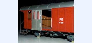 ABG Swiss FO F 4201 baggage car